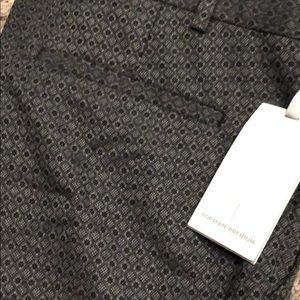 Topman Pants - Topman dress pants patterned 36L grey NWT